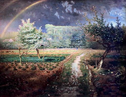 IMG_7859J Jean François Millet. 1814-1875. Paris Barbizon.   Le Printemps. The Spring. Vers 1870. Paris. Orsay.   by jean louis mazieres