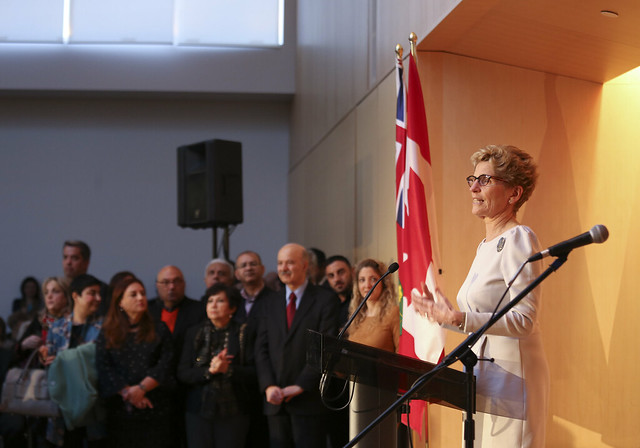 038A0023 Premier Kathleen Wynne celebrated Nowruz at the Ismaili Centre in Toronto.