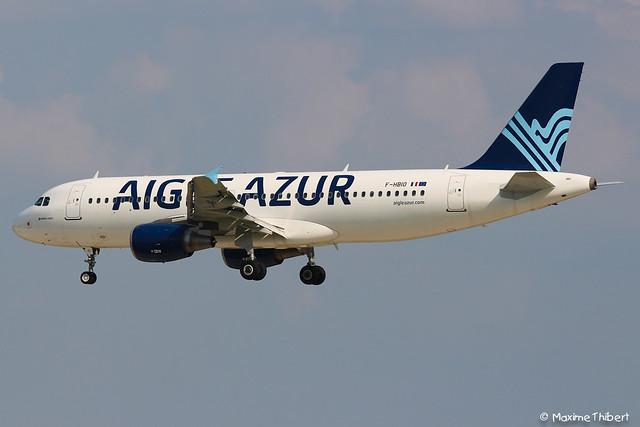 Orly A320-200 F-HBIS Aigle Azur