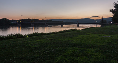 bridge sunset unitedstates pennsylvania danville
