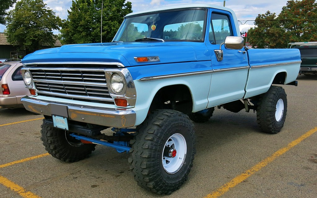 1968 ford f250 4x4 truck