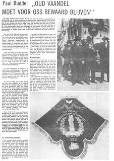 Vaandel - RK Vereniging van spoor en tramweg personeel Oss