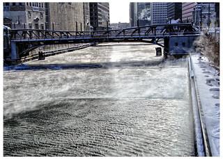 Icy River - Washington Bridge | by swanksalot