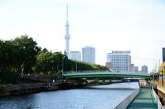 The Yoko-jikken River and Tokyo Sky Tree