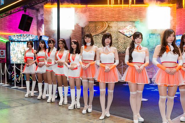 Bandai Namco -Japan Amusement EXPO (JAEPO) 2014 (Makuhari, Chiba, Japan)