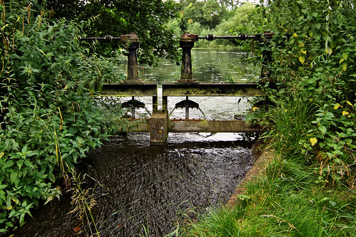 Bourne Pond sluce gate, Colchester, Essex, Aug 2012 | by KeithBee