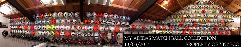 THE YKYECO ADIDAS MATCH BALL COLLECTION AS OF 13-MARCH-2014