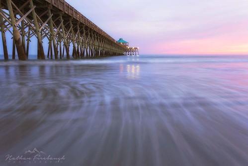sunset beach follybeach southcarolina pastel canon6d