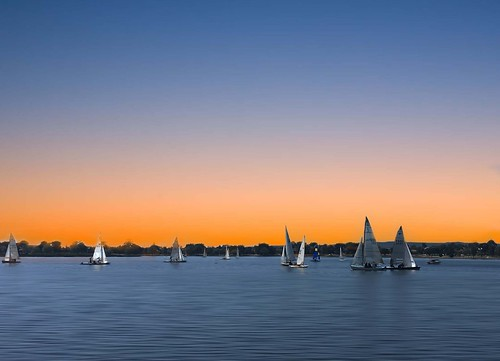 blueandorangesky waterscape beautifulday landscapephotography beautifullake sunrise water boat yacht nature view lakesunset lake orangesky beautifulsky sunset