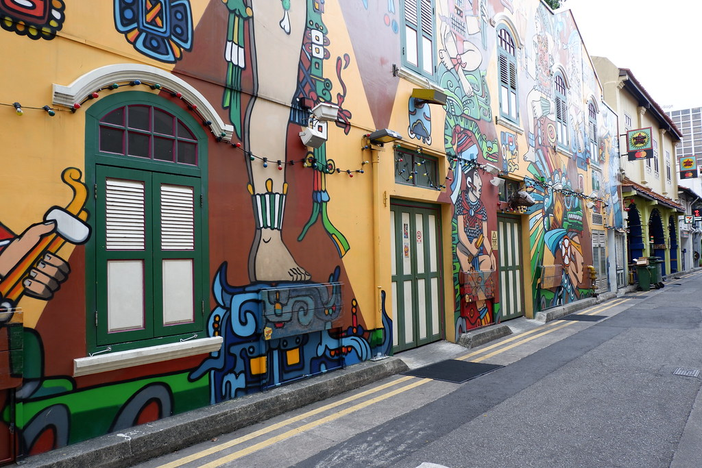 Haji Lane Wall