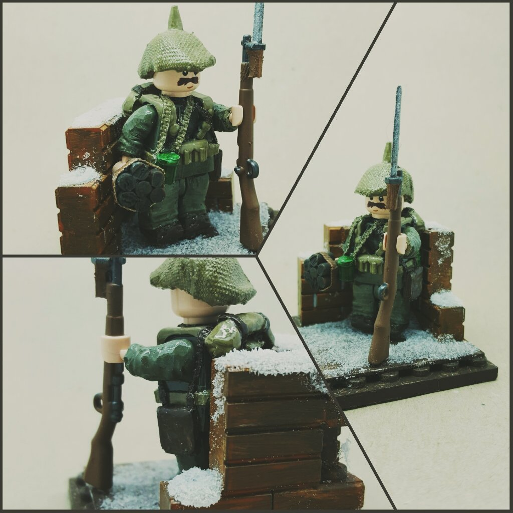 Frost - ww1 German infantry | Close shot of my WW1 German st… | Flickr