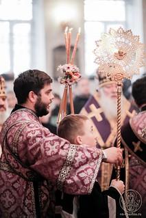 Литургия в Покровском соборе 190
