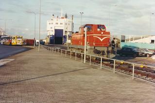 Trainferry Skagen
