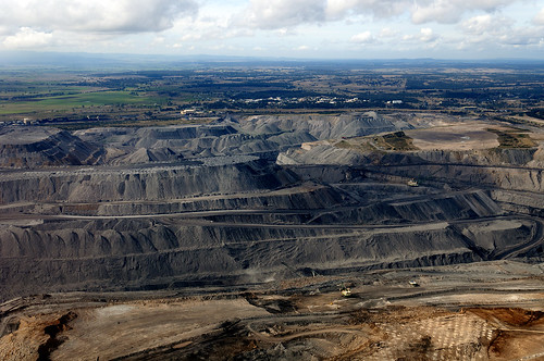 Open cut coal mine Hunter Valley | by Beyond Coal and Gas