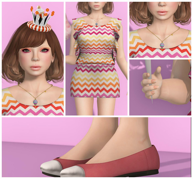 Candy Fair Look 1 Collage