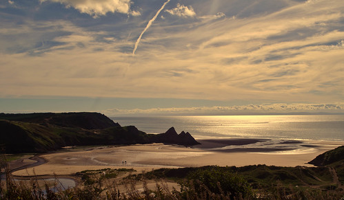 beach sand cliffs coastal gower earlyam oct13 nikond5100