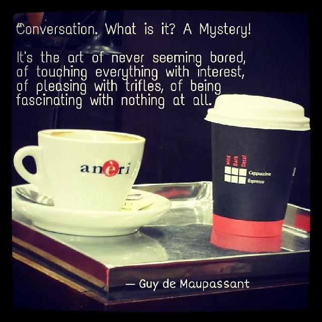 adda quotes conversation writers coffee friendship flickr