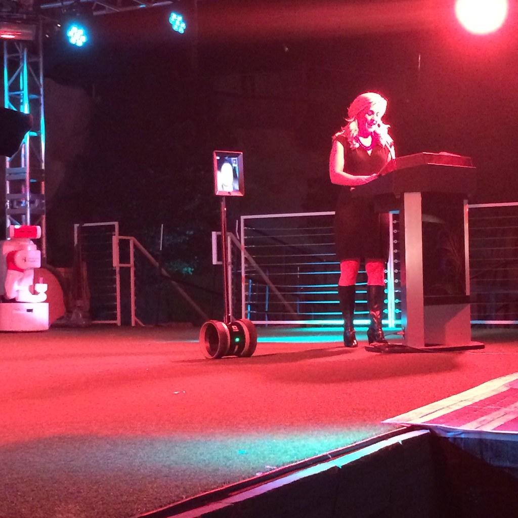 Living in Digital Times 2014 Robotics on the Runway 8