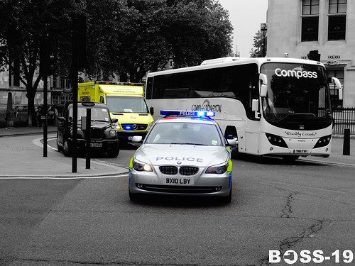 Metropolitan Police London BMW 5 Series Estate | by Boss-19