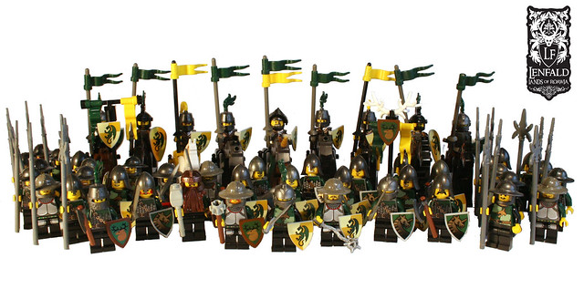 Lenfel Knights and Regular Infantry