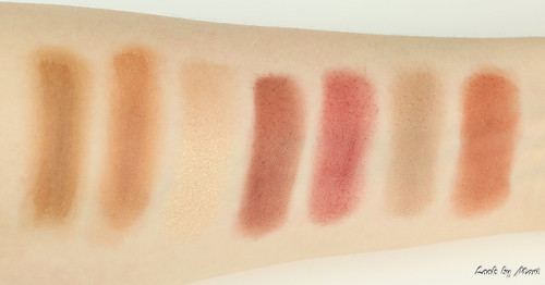 10 Anastasia beverly hills modern renaissance eyeshadow palette swatches swatch colors shades | by lookbymari