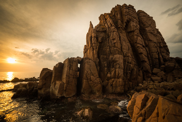 Cape Woolamai, the Pinnacles