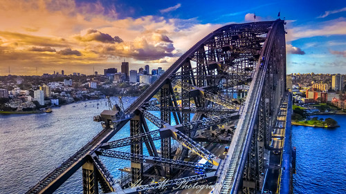 sydney australia sydneyharbor cityscapes scenery sceniclandscapes sunset