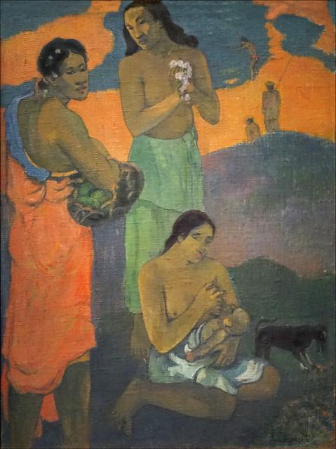 Maternité de Paul Gauguin (Fondation Louis Vuitton, Paris)