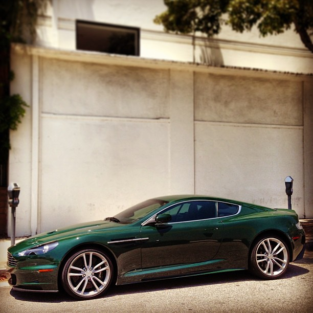If You're Not A Fan Of A British Racing Green Aston Martin