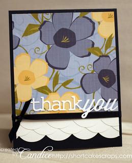 scalloped thank you | by ShortcakeScraps