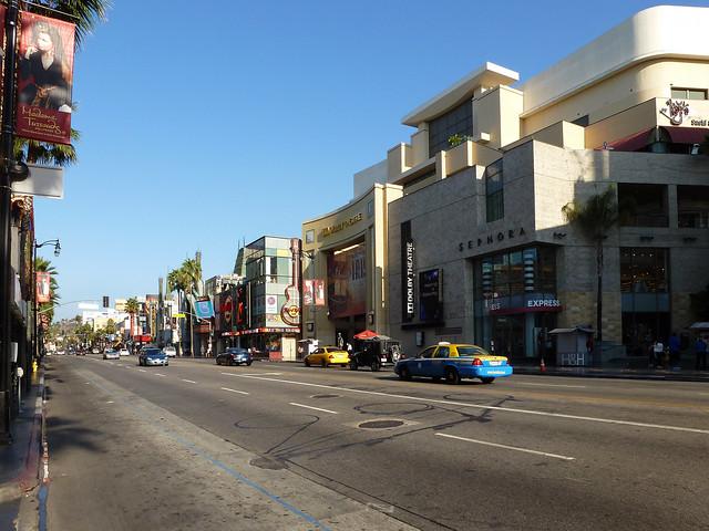 Hollywood Boulevard - Los Angeles, California
