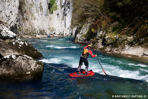 SUP in the Big Canyon of the Neretva | by Northwest Rafting Company
