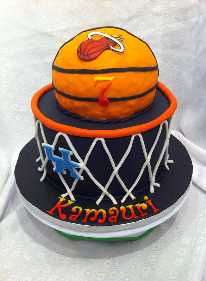 Basketball Cake By Dawn Raleigh Durham NC Birthdaycakes4free