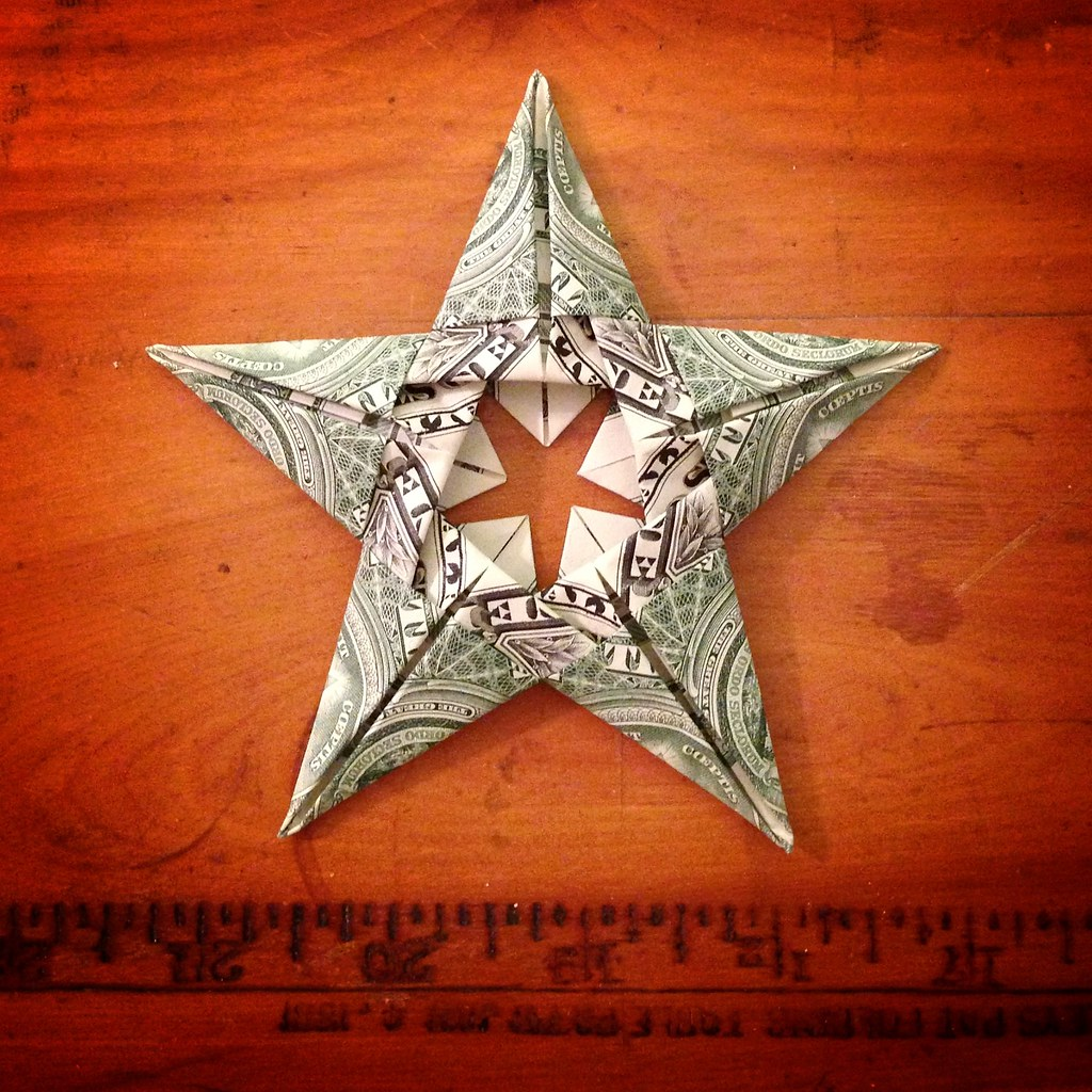 tars (dollar Bill Origami Stars) : 6 Steps (with Pictures ... | 1024x1024