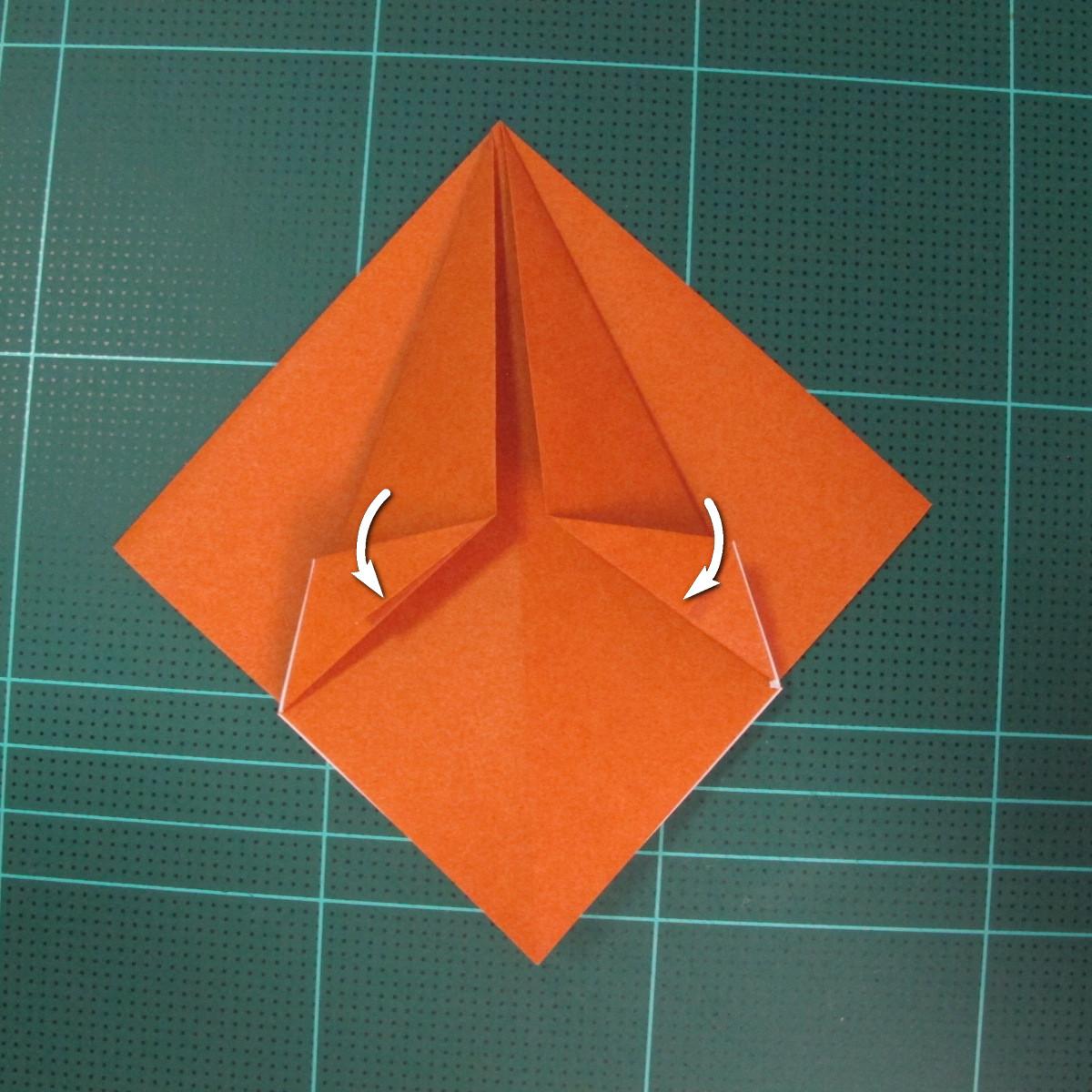 การพับกระดาษเป็นที่คั่นหนังสือหมีแว่น (Spectacled Bear Origami)  โดย Diego Quevedo 008