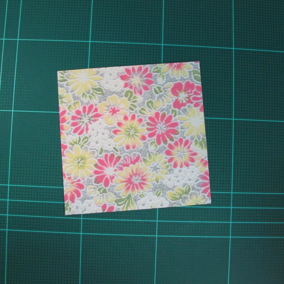การพับกระดาษเป็นรูปเรขาคณิตทรงลูกบาศก์แบบแยกชิ้นประกอบ (Modular Origami Cube) 002