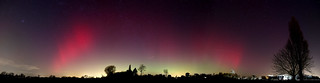 Aurora Borealis Milton Keynes  UK  Feb 2014 | by Brian Tomlinson Photography