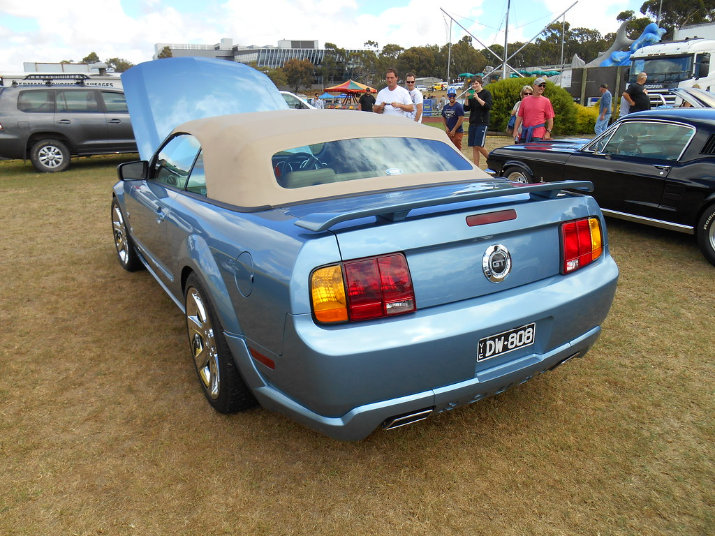 2008 ford mustang gt convertible by five starr photos aussiefordadverts