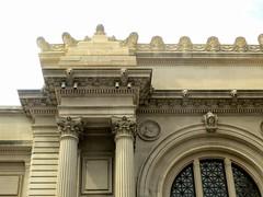 Metropolitan Museum of Art, cornice