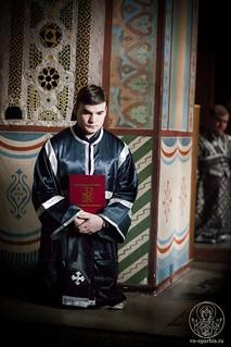 Литургия в Софийском соборе 290