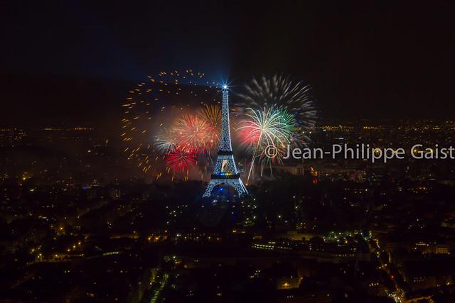 Feu d'artifice de la Tour Eiffel, 14 juillet 2013 - On Explore on July 16th #57