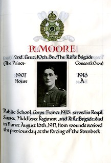 Moore, Robert (1895-1917) | by sherborneschoolarchives