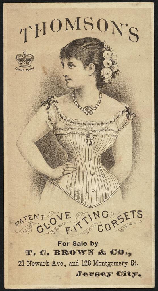 Thomson's patent glove fitting corsets. [front]