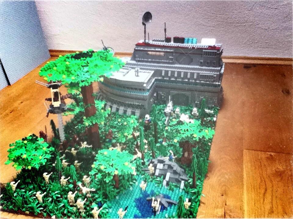 Clone Base Lego Star Wars Moc From Star Wars The Clone War Flickr