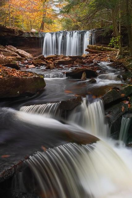 Below Oneida Falls