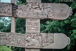 Sanchi Stupa  (35)   by travelling slacker