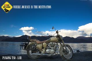 Royal Enfield - Leh and Ladakh (Pangong Tso Lake)
