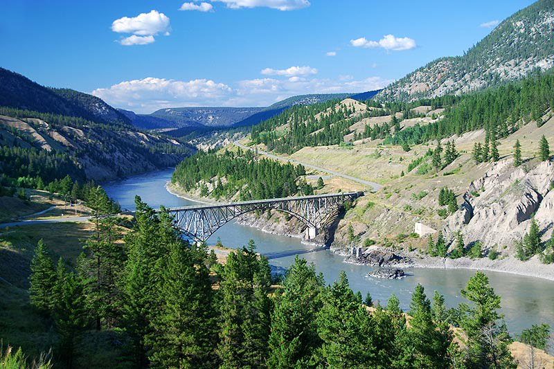 Fraser River Bridge, Highway 20, Chilcotin