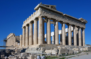 Parthenon, from southeast | by profzucker