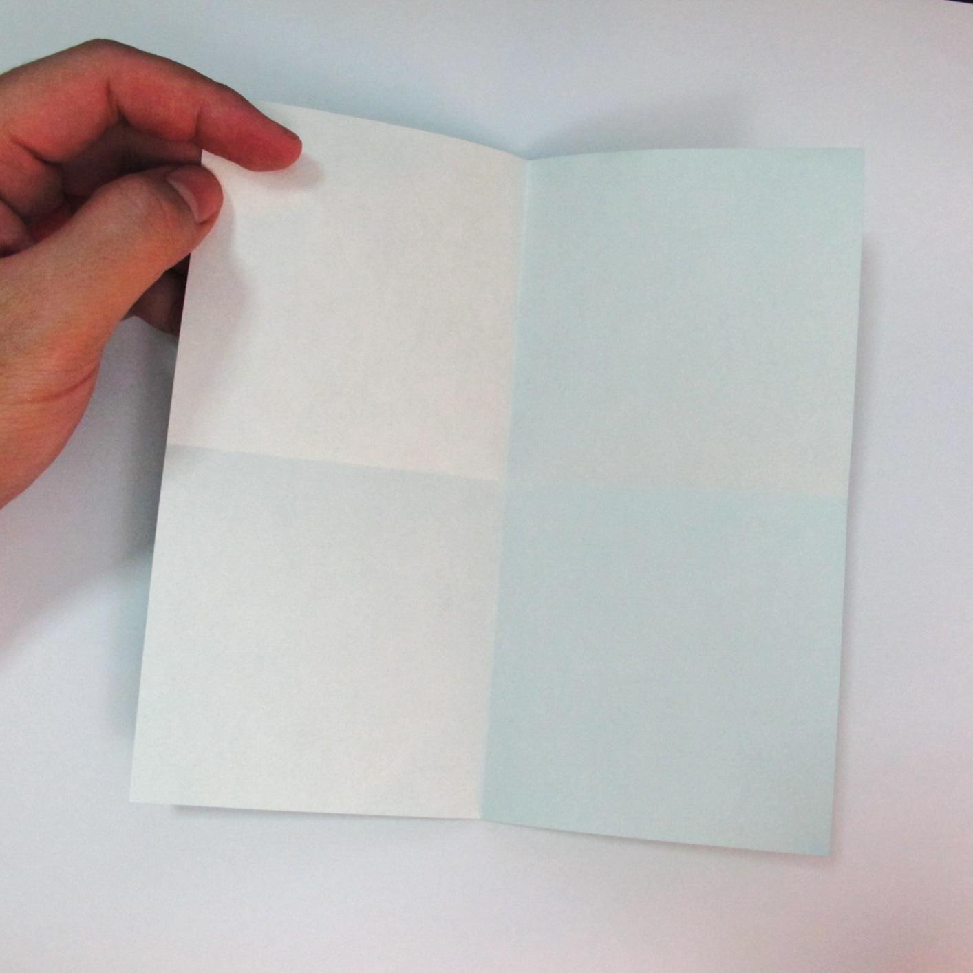 สอนวิธีการพับกระดาษเป็นรูปปลาฉลาม (Origami Shark) 002